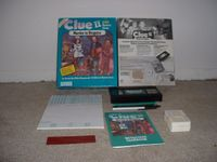 Board Game: Clue II: Murder in Disguise VCR Mystery Game