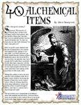 RPG Item: 40 Alchemical Items