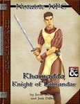 RPG Item: NN: Khamadda