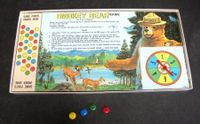 Board Game: Smokey Bear Game