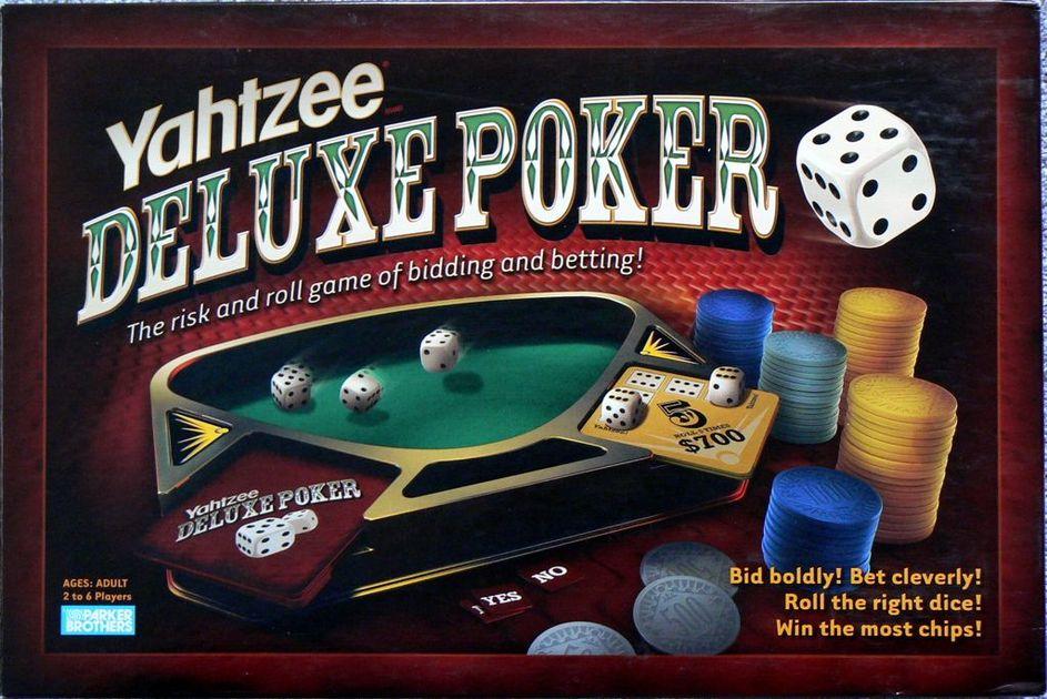 Yahtzee Deluxe Poker Board Game Boardgamegeek