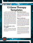 RPG Item: 13 Gene Therapy Templates