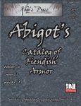 RPG Item: Abigot's Catalog of Fiendish Armor