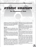 RPG Item: Atomic Highway: The Homebrewer's Guide