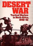 Board Game: Desert War: Tactical Warfare in North Africa
