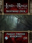 Board Game: The Lord of the Rings: The Card Game – Nightmare Deck: Passage Through Mirkwood