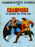 RPG Item: Gamemaster's Screen for Champions (1st Edition)