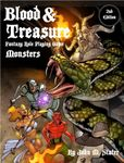 RPG Item: Blood & Treasure Fantasy Role Playing Game: Monsters
