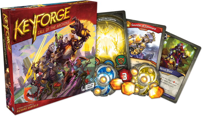 Board Game: KeyForge: Call of the Archons