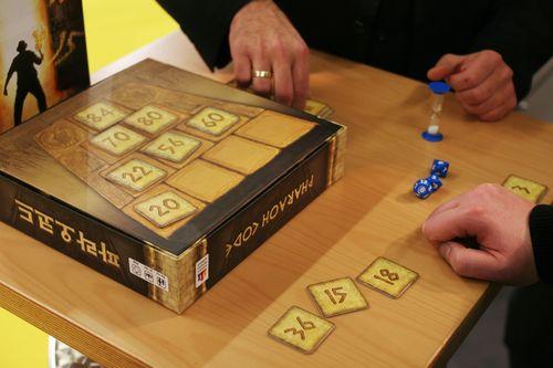 Board Game: Pharaoh Code