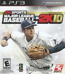 Video Game: Major League Baseball 2K10