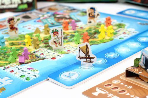 Board Game: Paleolithic: Seafarers