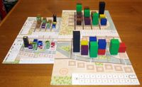 Board Game: Town Center: Expansion n°1