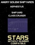 RPG Item: Aephestus Shipyard Class Cruiser