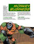 RPG Item: Judge Dredd Case File #1: Monkey Business