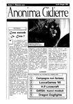 Issue: Anonima Gidierre (Numero 1 - Aprile/Maggio 1995)