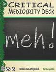 RPG Item: 52 in 52 #17: Critical Mediocrity Deck (5e)
