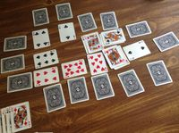 Board Game: King's Reign: Solitaire Card Game