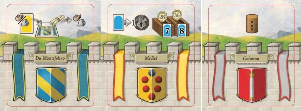 Board Game: Lorenzo il Magnifico: Houses of Renaissance