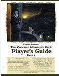 RPG Item: The Zeitgeist Adventure Path Player's Guide