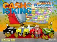 Board Game: Worker Placement: Cash Is King