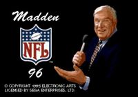 Video Game: Madden NFL 96