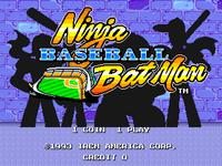 Video Game: Ninja Baseball Bat Man