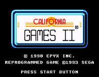 Video Game: California Games II