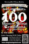 RPG Item: 100 Bizarre Village Traditions for all Fantasy RPGs