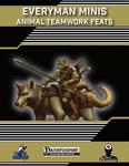 RPG Item: Everyman Minis: Animal Teamwork Feats