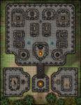 RPG Item: VTT Map Set 184: The Cursed Ziggurat