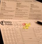RPG Item: Chronica Feudalis