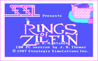 Video Game: Rings of Zilfin