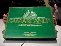 Board Game: Samarcanda: The Marvellous Adventures of Marco Polo