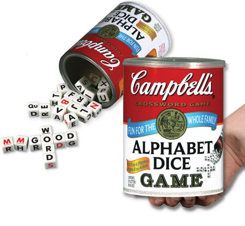 Board Game: Campbell's Alphabet Dice Game