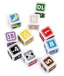Board Game Accessory: 1st & Goal: Preprinted Dice Basic Team