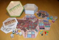 Board Game: Infection Express