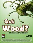 RPG Item: Got Wood?