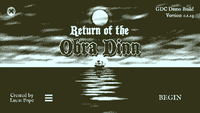 Video Game: Return of the Obra Dinn