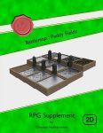 RPG Item: Battlemap: Paddy Fields