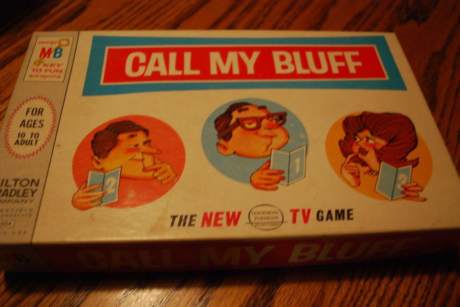 Call My Bluff | Board Game | BoardGameGeek