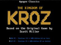 Video Game: Kingdom of Kroz