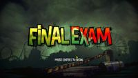 Video Game: Final Exam