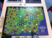 Board Game: Age of Steam Expansion: California Gold Rush & Underground Railroad