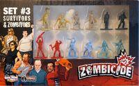 Board Game: Zombicide: Set #3 – Survivors & Zombivors