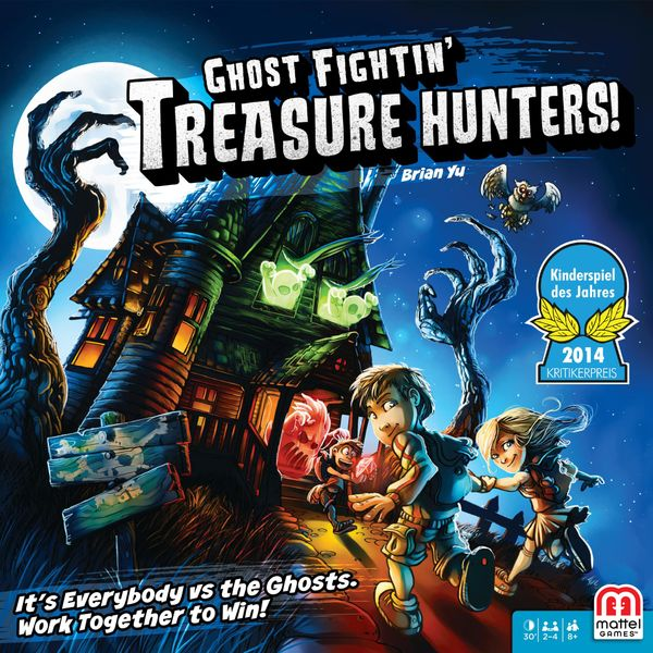 Ghost Fightin' Treasure Hunters, Mattel, 2016 — front cover (image provided by the publisher)