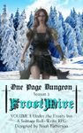 RPG Item: One Page Dungeon FrostMire Volume 1: Under the Frosty Inn