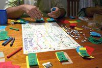 Board Game: Prairie Railroads