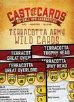 RPG Item: Cast of Cards: Terracotta Army Wild Cards