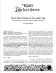 RPG Item: The Cultist-Monks of the Abbey Inn